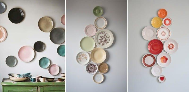 לוח של לוחות על הקיר