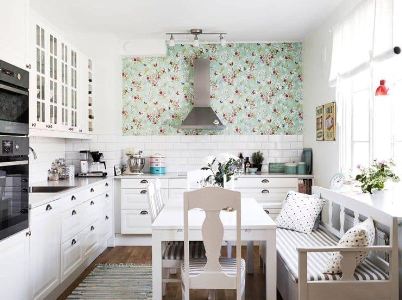 Bænk i køkkenets indre