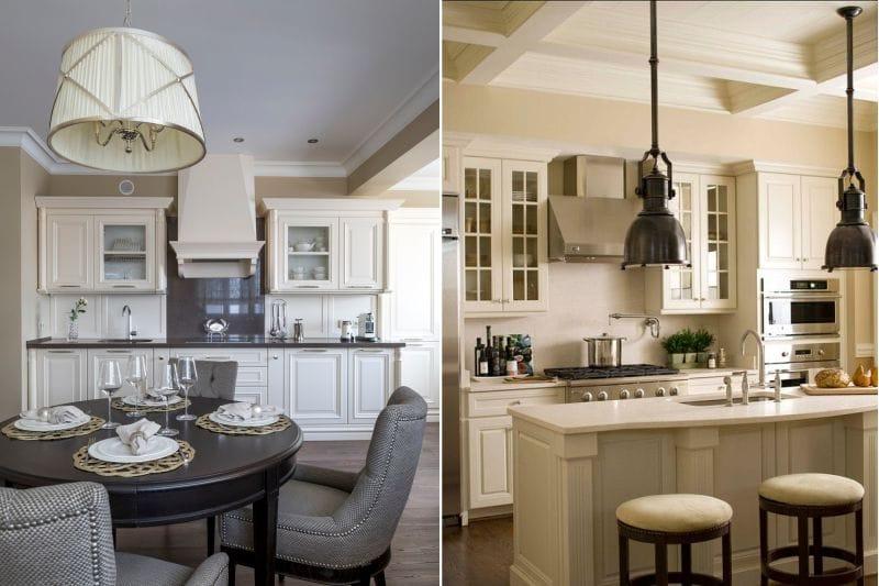 Lampes classiques de style campagnard