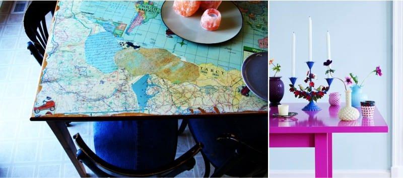 Idea untuk pengubahsuaian dan pemulihan meja dapur