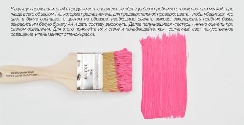 כיצד לבדוק את צבע הקיר