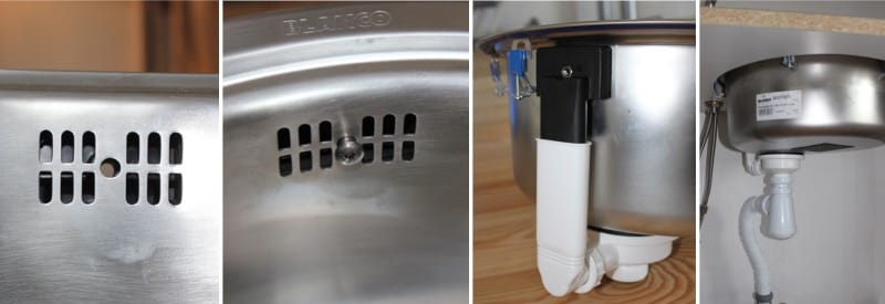 A szifon beszerelése a saját kezével - a mosogatóhoz
