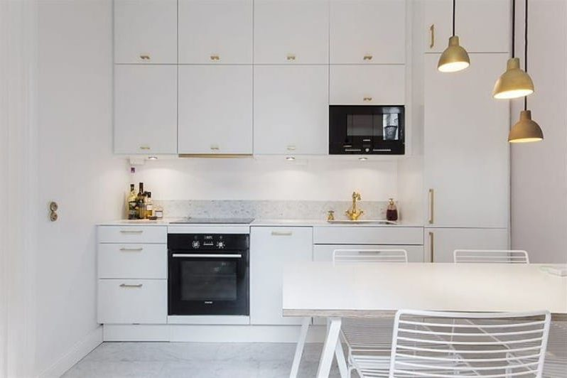 Fehér konyha Ikea módszer esküvő
