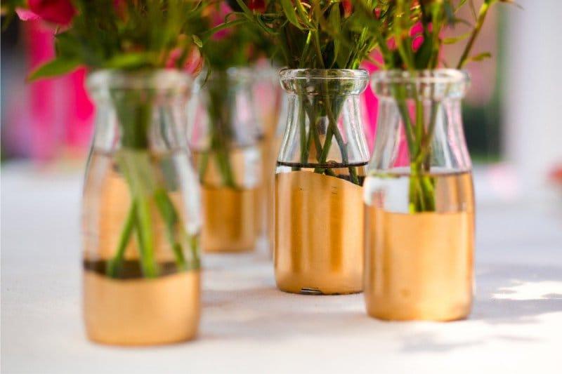 קישוט בקבוק חתונה