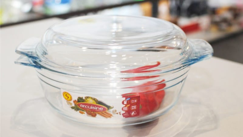 זכוכית עמיד בחום סיר