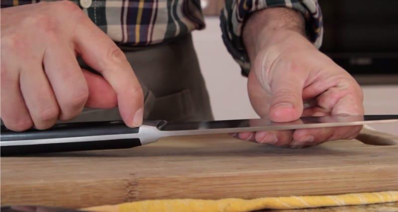 Manche de couteau classique