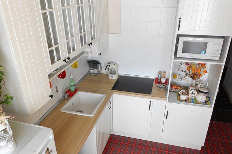 Ikea Faktum konyhai stotja a konyhában