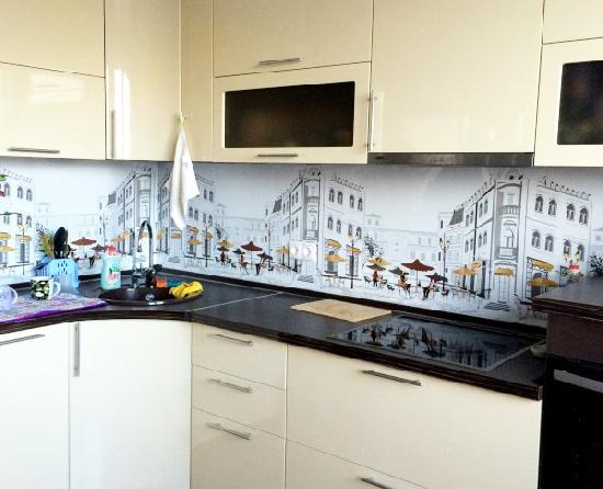 Kuhinjska pregača od ABS plastike