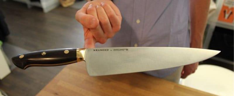 Vérification de la balance au couteau