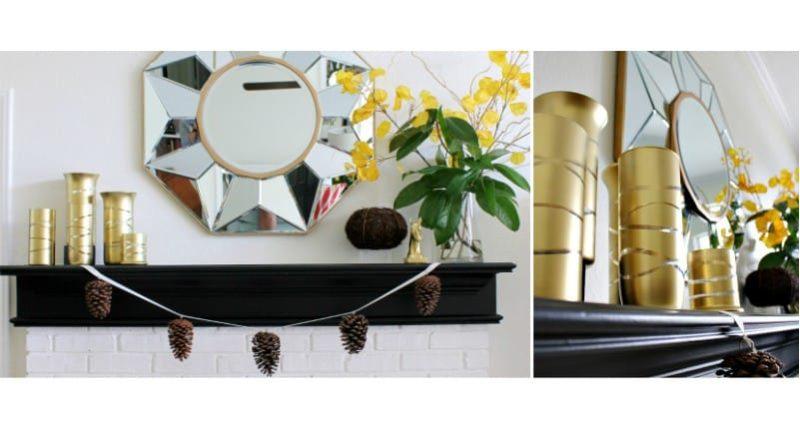 DIY festés váza