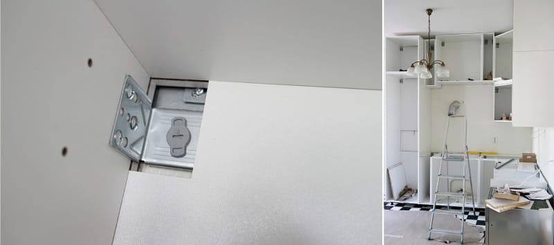 A konyha összeállítása Ikea módszer
