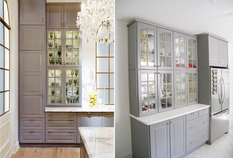 Ikea Grey Kitchen Budbin módszer
