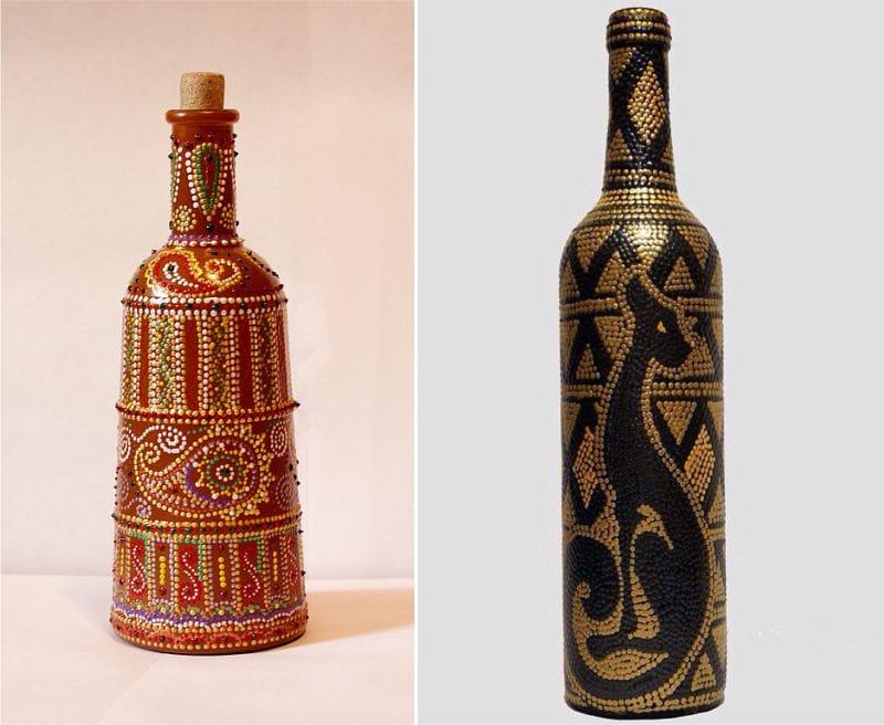 ציור של בקבוקים