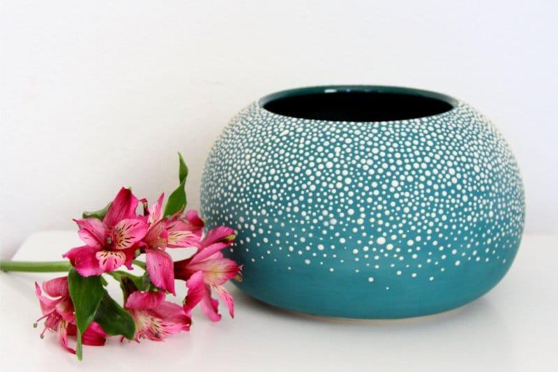 Helyszínfestés vázák