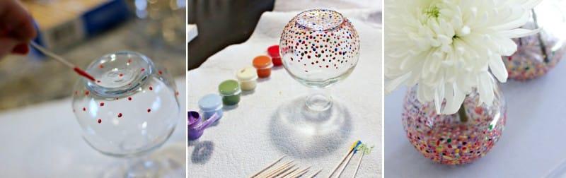 Egy fogpiszkáló váza festménye