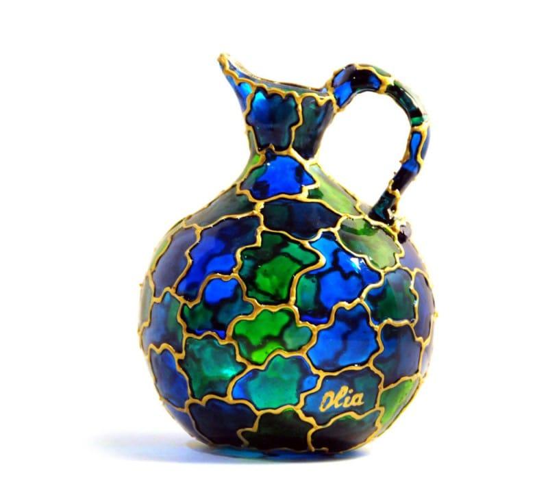 Ólomüveg festés vázák csináld magad