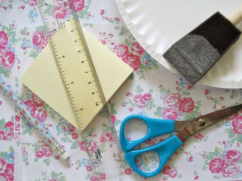 עיצוב תריסים DIY - חומרים