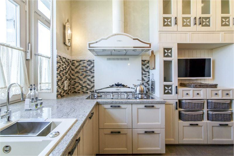Dapur Tanpa Kabinet Atas 6 Idea Simpanan 5 Susun Atur 40 Gambar
