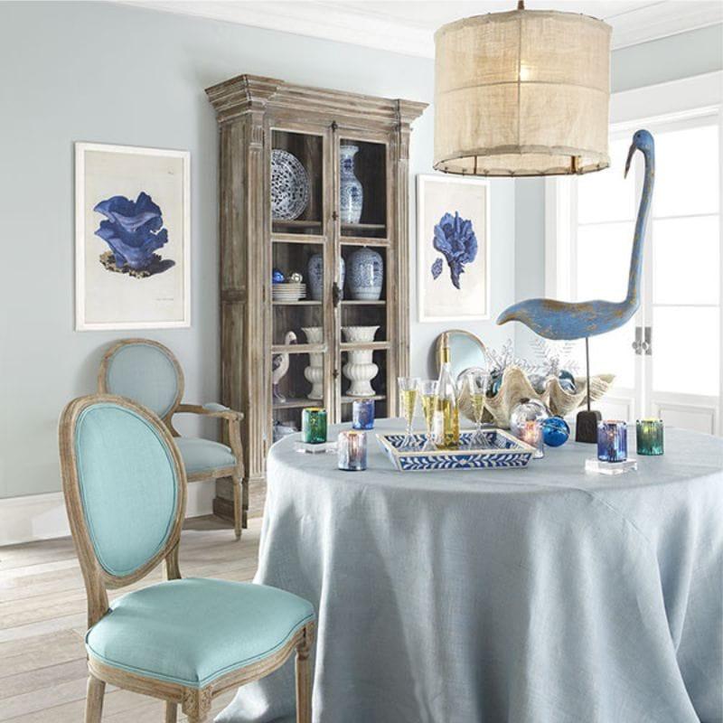 Asztalterítő színes étkező belső dekoráció