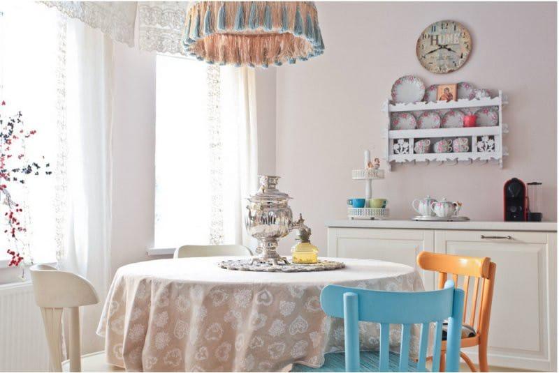 A konyha belső terítője