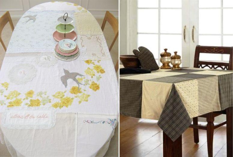 Asztalterítő patchwork