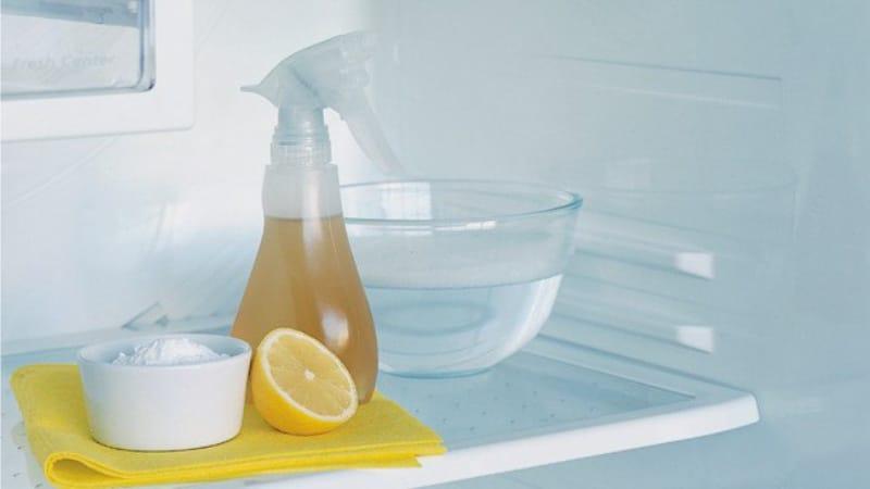 Sådan fjerner du ubehagelig lugt fra køleskabet