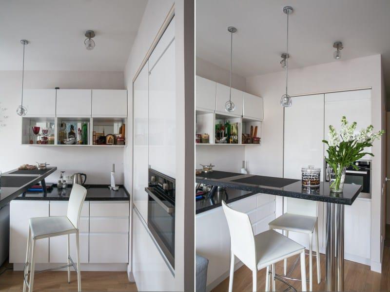 MDF кухня в лъскав PVC филм
