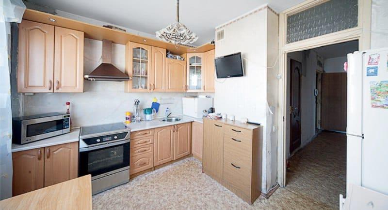 Кухня с МДФ фасади с лаково покритие