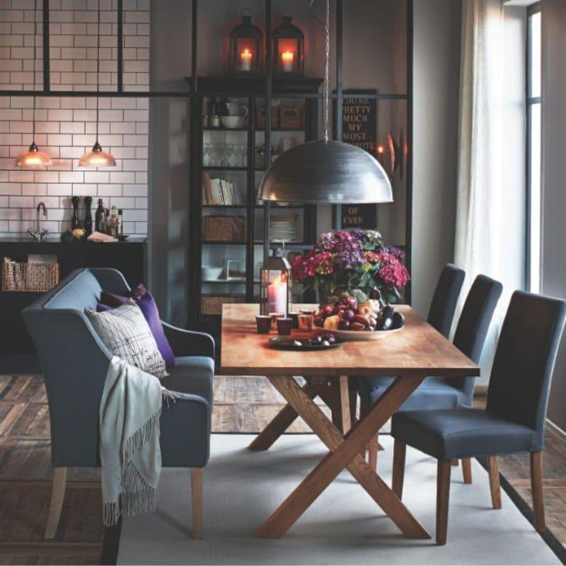 Eclairage cuisine style loft