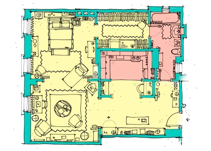 Plan d'appartement Carrie
