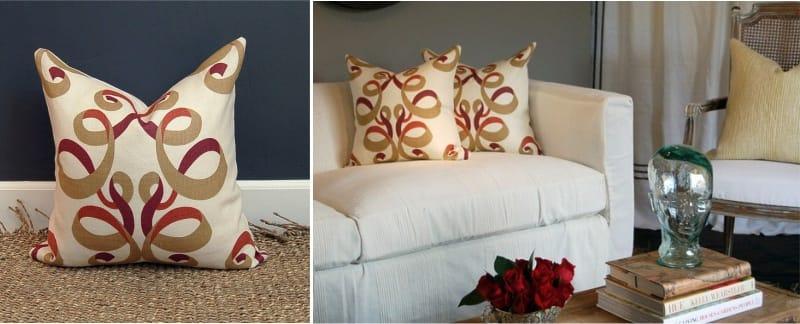 Art Nouveau μαξιλάρια