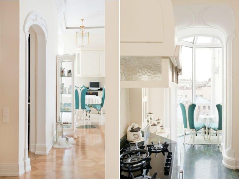 Arch keittiössä Art Nouveau -tyyliin