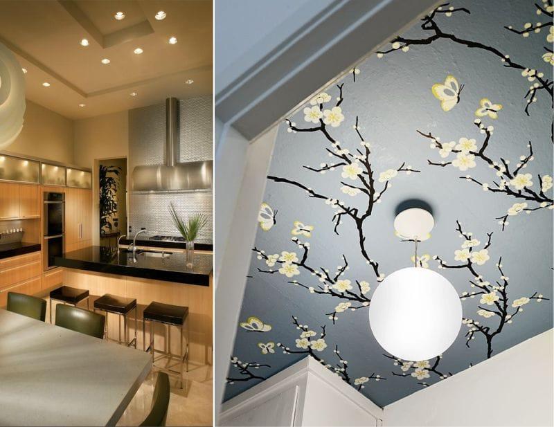 Plafond de style japonais