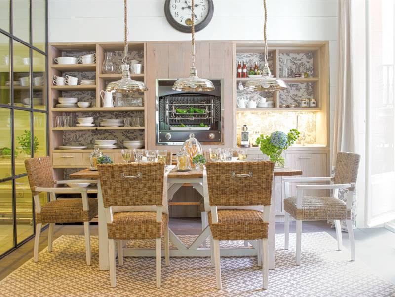 Rack dekoráció a konyha számára