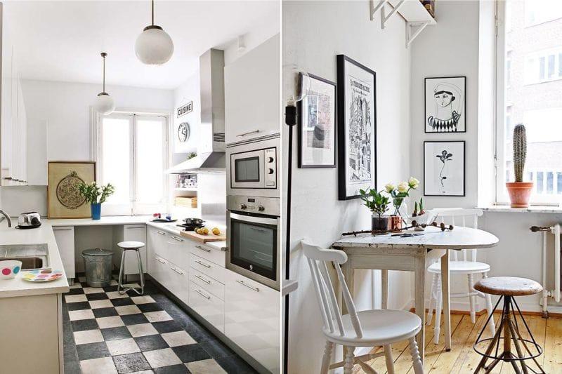 תמונה בתוך מטבח מודרני