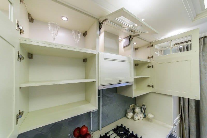 Køkkenindretning 10 kvm. meter i klassisk stil