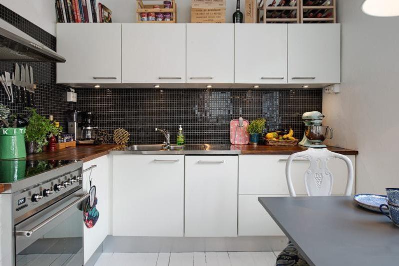 Køkkeninteriør 8 kvadrat. m