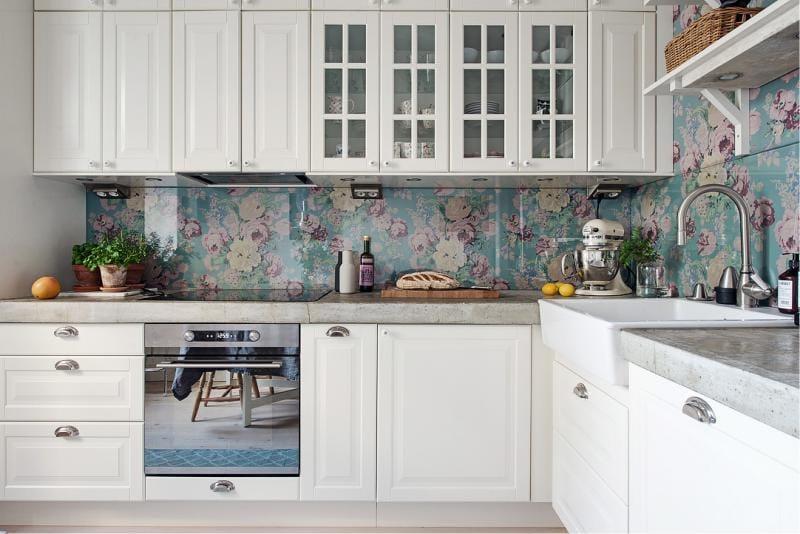 Køkken indvendigt areal på 10,2 kvadratmeter. m