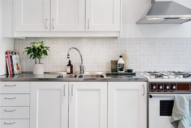 Køkken-stue på 9,5 kvadratmeter. m