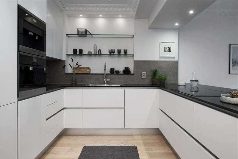 Køkkenareal på 10,6 kvadratmeter. m