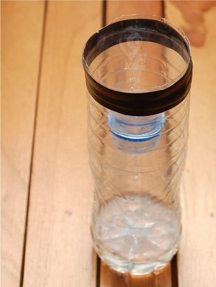 Műanyag palack fekete fly csapda