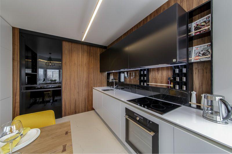 MDF zidni paneli u unutrašnjosti kuhinje