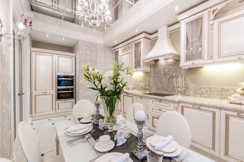 Belső konyha 16. tér. m klasszicista stílusban