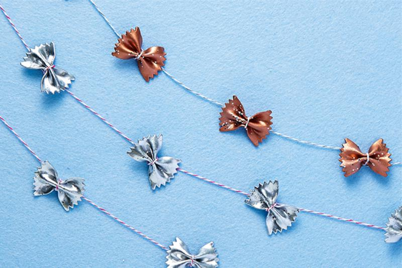 Guirlande papillon macaronis