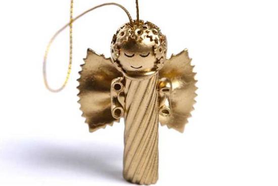 Des idées pour créer des anges à partir de pâtes