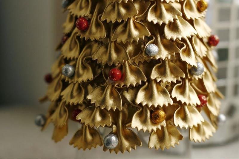 Fabriquer un arbre de Noël à partir de pâtes