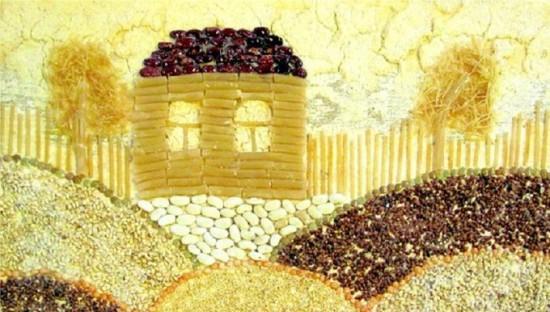 Image de pâtes et de céréales