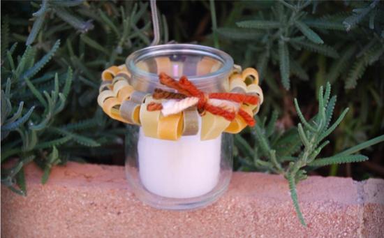 Macaroni Chandelier