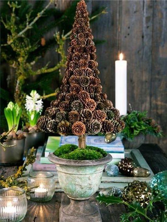 Kis kúpok karácsonyfa