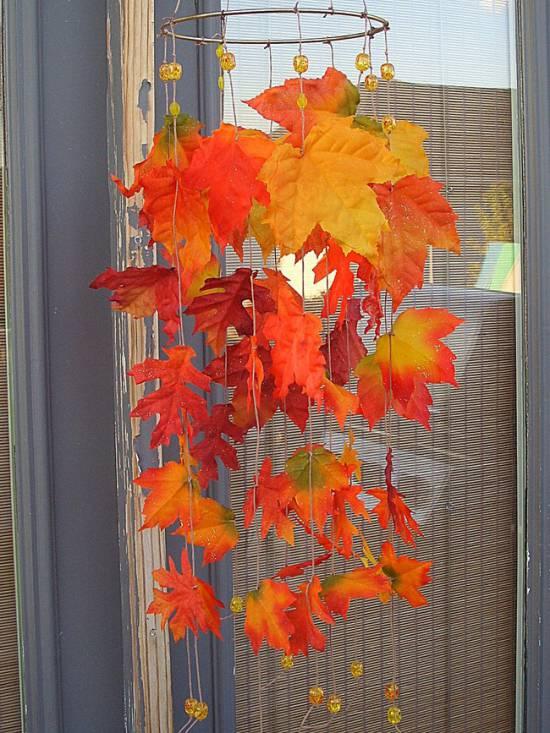 Az őszi szélzene tervezésének ötlete